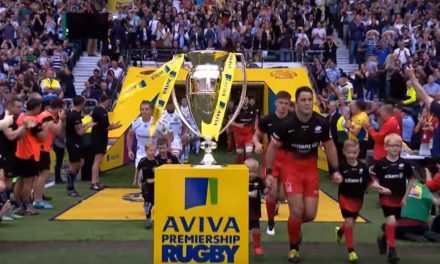 Saracens Defeat Exeter to win the Premiership Final