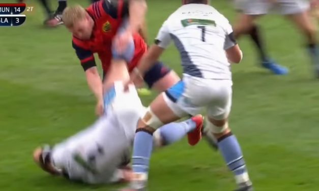 Keith Earls red card – he was annoyed but he has form