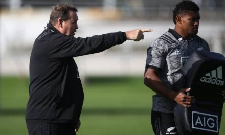 "All Blacks coach Steve Hansen on training camps: ""Everyone has to make a sacrifice"""
