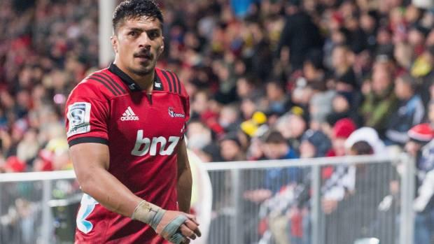 Crusaders loose forward Pete Samu signs with Brumbies for 2019 Super Rugby season