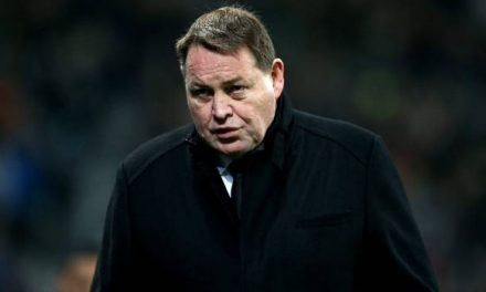 """Frustrated All Blacks coach Hansen demands World Rugby show leadership and suggests """"two strikes system"""""""