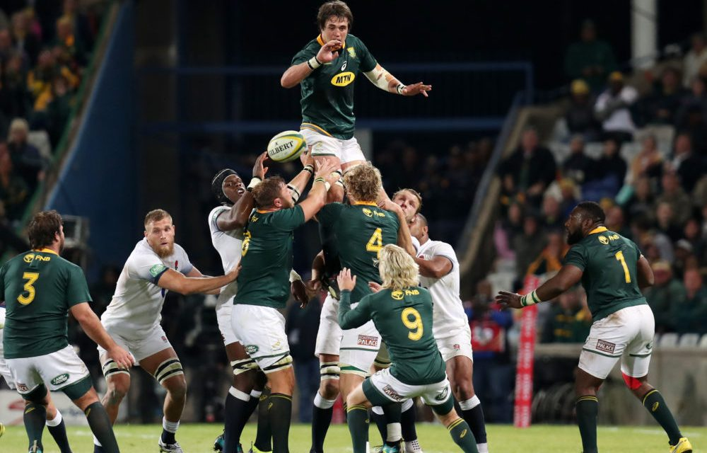 Springboks seal series over England with one game left to play