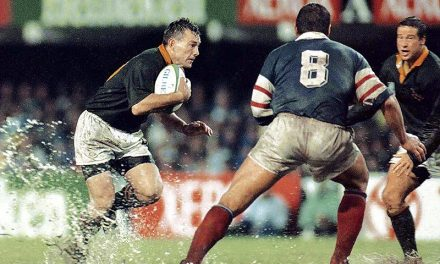 Today in History: The Springboks defeated France in 1995 Rugby World Cup semifinal