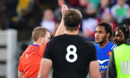 All Blacks seal series win over France after Benjamin Fall's early red card