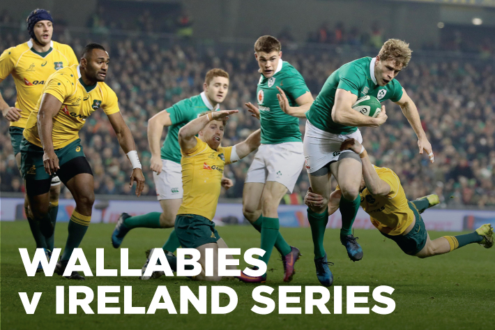 Australia (Wallabies) vs Ireland Rugby Live Streaming Free