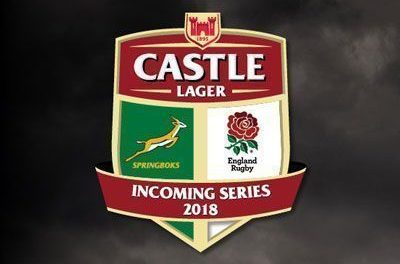 Incoming Series 2018 Springboks vs England