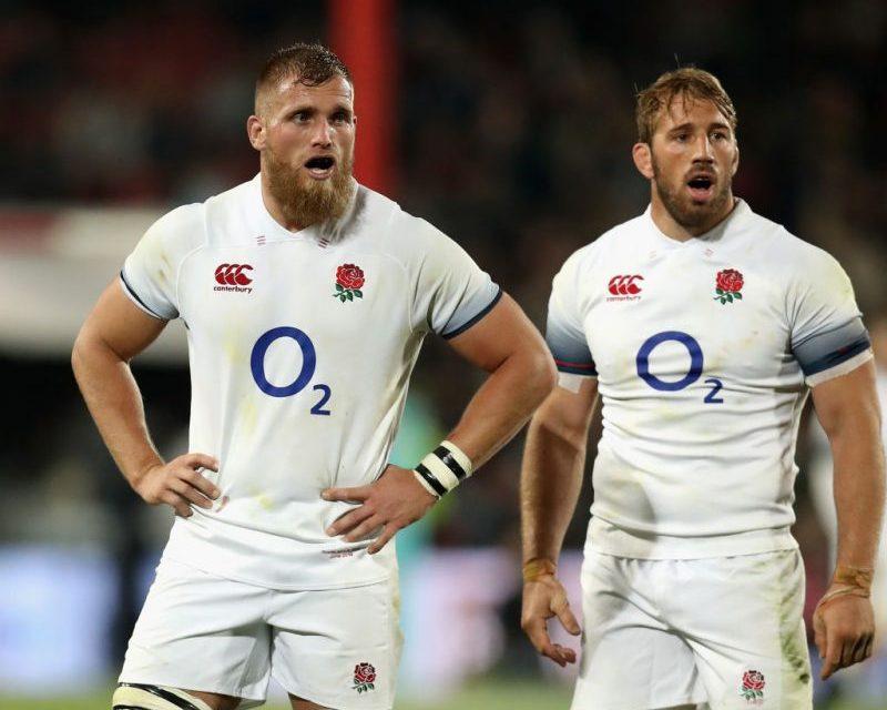 England name Test side for second Test against Springboks