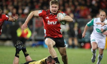 Classy Crusaders blow away Hurricanes to secure a home Super Rugby final