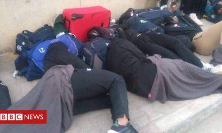 Zimbabwe's rugby union team sleep rough in Tunisia