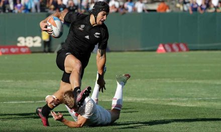 The All Blacks Sevens made history claiming their third Rugby World Cup Sevens title