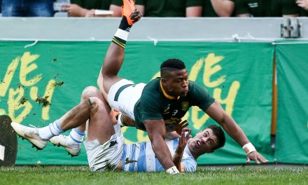 Springboks faced the Pumas in front of a record low crowd