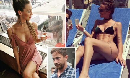 England rugby ace Danny Cipriani's secret lover visited him in his hotel room less than a day before his international comeback