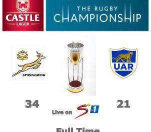 Bonus point win for Springboks