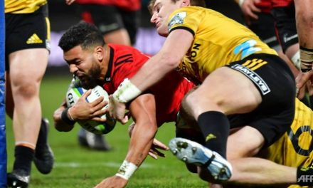 Rugby: Mo'unga guides clinical Crusaders into Super Rugby final