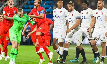 England rugby players told by chiefs to behave more like Gareth Southgate's World Cup heroes (…yes, you read that right)