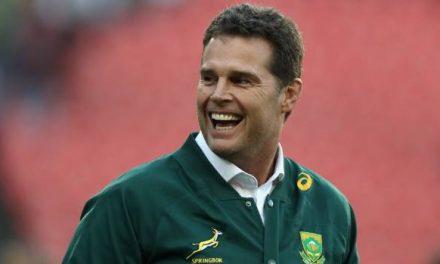 Springboks coach Rassie Erasmus teetering towards the exit