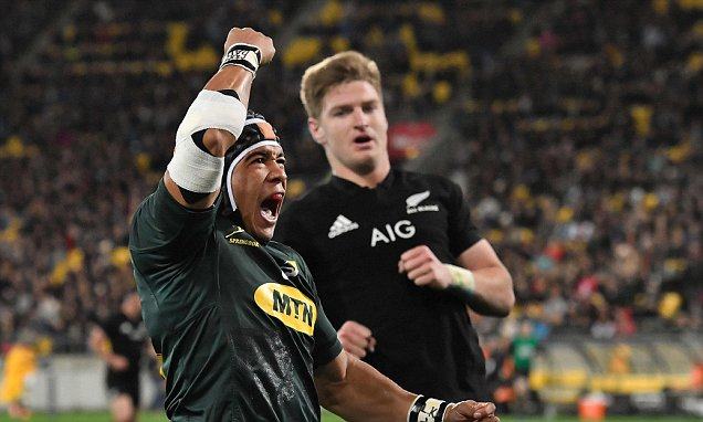 South Africa prove the All Blacks are mortal as Rassie Erasmus' men pull off shock win in Wellington