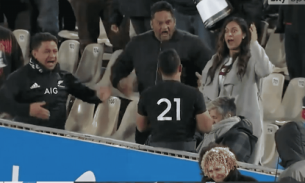 Watch: Family Of All Blacks Debutant Perform Emotional Post Match Haka