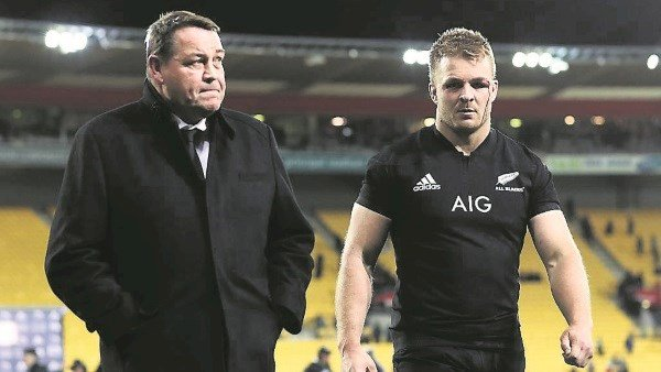So this is what happens when the All Blacks lose a match…