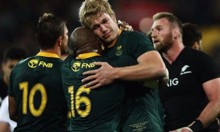 Zero to hero for Rassie as Boks score win against All Blacks