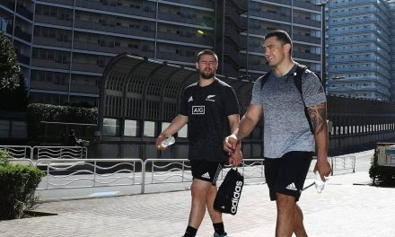 Codie Taylor hopes All Blacks 'don't blow out' on 'amazing Japanese food'