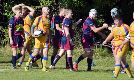 RUGBY UNION: Spalding put on 'highly enjoyable afternoon of rugby' for club president Sly