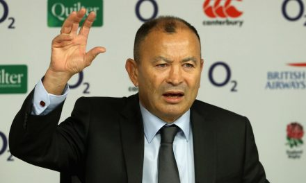 England rugby boss Eddie Jones insists he doesn't fear the sack