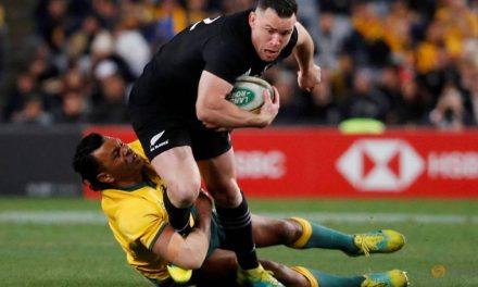 Hurting All Blacks must learn lesson, says Crotty