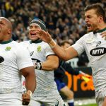 Last-gasp try gives Springboks a comeback win over France in Paris