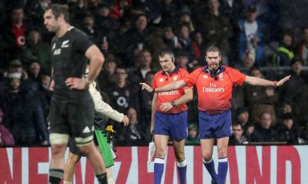 All Blacks v England: Jerome Garces and Marius Jonker get decision right but process wrong