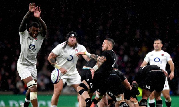 All Blacks v England: 'Clearly onside' – UK media anger over call that changed the game
