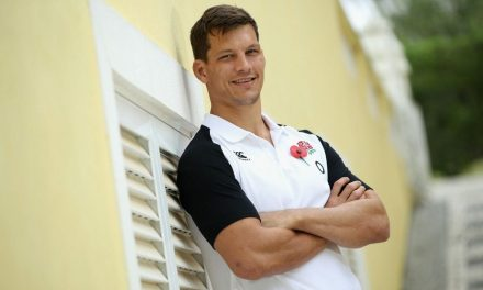 Durban-born Michael Rhodes says he won't be intimidated by Springboks sledging if he makes England bow