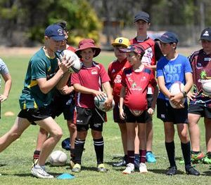 Tomorrow is an introduction to rugby union in Rockhampton