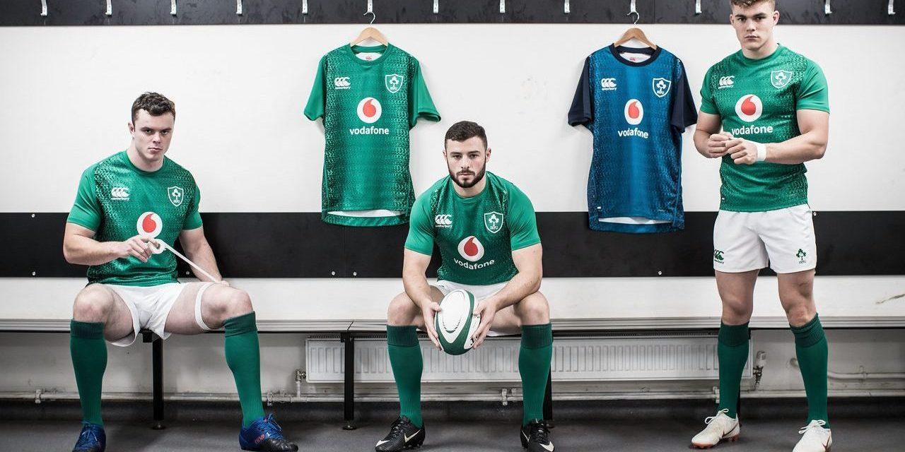 New Ireland Rugby Jerseys 2019