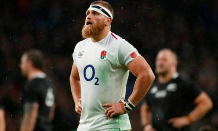 Controversy at Twickenham as All Blacks hang on against England after block-down try ruled out