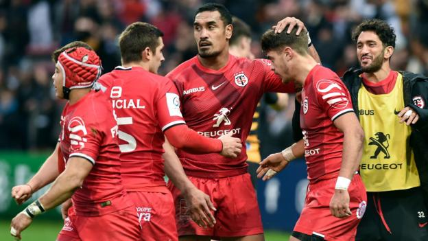 European Rugby Champions Cup: Toulouse 42-27 Wasps