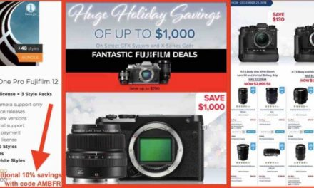 Top Deals: Savings on Fujifilm Gear, Capture One Pro 12 with Film Simulations, SD-Cards and More – Fuji Rumors