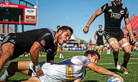 2019 USA Sevens Rugby | Fiji Rugby take out the New Zealand All Blacks 7s | Olympics