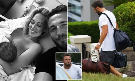 England rugby star Sam Burgess splits with wife Phoebe