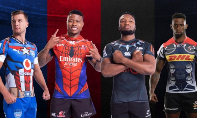 South Africa's Super Rugby teams get Marvel-inspired jerseys