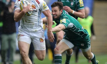 Exeter clinch home Aviva Premiership semi-final by…