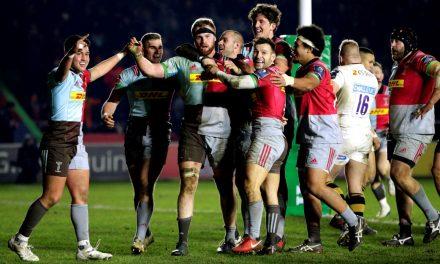 Aviva Premiership Rugby European wrap: Harlequins sting Wasps