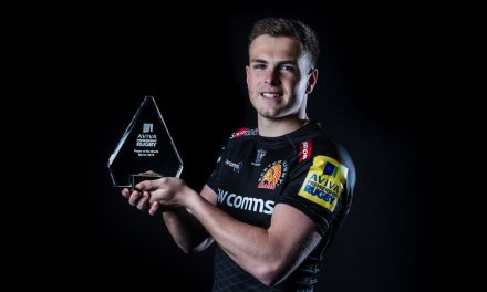 Joe Simmonds named Aviva Premiership Rugby Player of the Month
