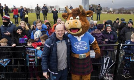 Scotch Beef High Profile at Scottish Rugby Open Session