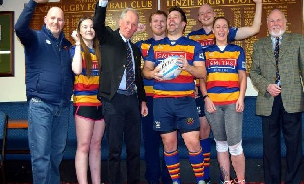 Lenzie are Scottish Rugby Union's Club of the Month – Kirkintilloch Herald
