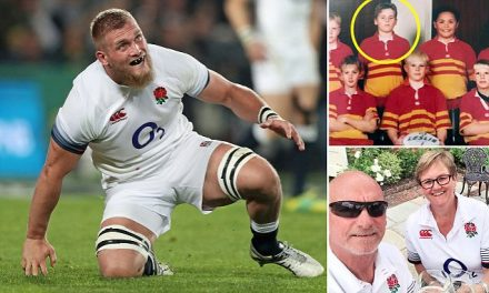 Brad Shields' parents defend his switch from All Blacks to England