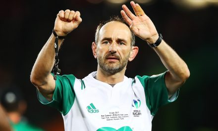 Romain Poite takes charge of Aviva Premiership Rugby Champions Exeter Chiefs in Champions Cup