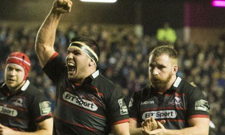 14-man Edinburgh inflict first Pro14 defeat of season on Glasgow