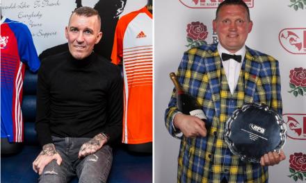 Rangers hero Fernando Ricksen pledges to help stricken Scotland rugby hero Doddie Weir battle motor neurone disease