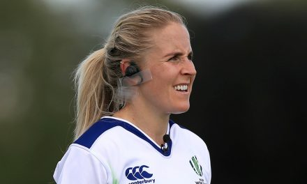 Joy Neville becomes first female official to referee Guinness PRO14 rugby match